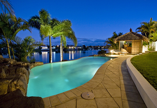 Waterfront Landscape Lighting